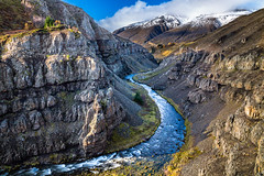 Torfufellsgil (Einar Schioth) Tags: torfufellsgil water river rocks rock sky sunshine day canon clouds cloud coast cliff canyon vividstriking blusky nationalgeographic ngc nature mountains mountain landscape lake photo picture outdoor iceland ísland eyjafjordur einarschioth