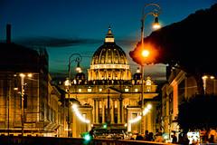 Ciudad del Vaticano (pablocba) Tags: ciudad vaticano vatican city sunset bluehour europe sonya6000 a6000 photography pic travel viaje