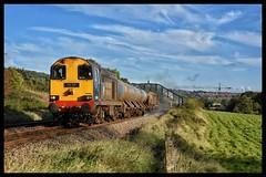 20303/20302 (Lewis_Hurley) Tags: 20 class20 20303 maxjoule19581999 drs directrailservices rhtt railheadtreatmenttrain 3s14 train railway uk england yorkshire ecclesfield diesel