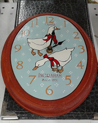 Canards - Ducks (J. Trempe 4,140 K hits - Merci-Thanks) Tags: horloge clock temps time heure hour canard duck ingraham