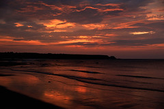 Hometown sundown (Troonafish) Tags: scotland scottish scottishlandscape scottishscenery scottishcountryside landscape landscapes landscapephotography scenery scenic thegreatoutdoors gavintroon gavtroon 2019 canon canon5d2 canon5dii 5dmark2 5dmarkii 5d2 5dii bestview naturalbeauty moray morayshire moraycoast morayfirth coast coastline coastal sea seascape seascapes cullen cullenbay portknockie bowfiddlerock sun sunlight orange orangesky redsky redskyatnight sunset sunsets sunsetoverwater sunsetoversea