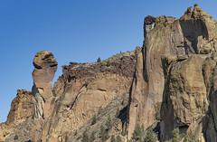 Monkey Face @ Smith Rock State Park (Al Case) Tags: monkey face smith rock oregon climbing climbers central landscape al case nikon d750 nikkor 24120mm f4g state park hike hiking