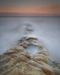 Where do you come from? (Squareburn) Tags: sunset coast northumberland hauxley longexposure seascape longexposureseascape rocks