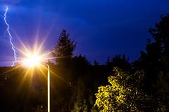Lightning / 2017-08-01 (astrofreak81) Tags: explore lightning blitz gewitter donner sturm regen rain strom hell knall licht couds wolken light night sky dark canon eos 1000d dresden 2017080120170622 astrofreak81 sylviomüller sylvio müller
