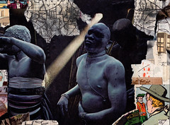 Africans (johnefrench) Tags: collage art photomontage montage