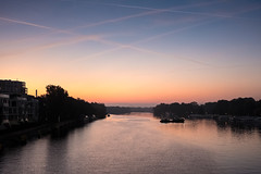 Spree (mompl) Tags: berlin spree rummelsburgerbucht wasser morgengrauen