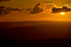 Dark Sun (rmrayner) Tags: dartmoorsunset hdr devon sunset dartmoor sun clouds landscape countryside hills moor octoberchallenge 1631 layers