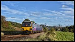 144015 (Lewis_Hurley) Tags: 144 class144 144015 pacer train railway railbus northernrail northern ecclesfield passenger diesel dmu dieselmultipleunit uk england yorkshire sky blue