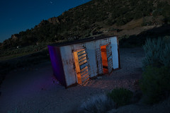 The Traveling Cells (Nocturnal Kansas) Tags: night nocturnal moon full lightpainting longexposure nightphotography nevada jail prison led1 protomachines d800 nikon