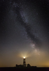 Pale into insignificance (StuMcP) Tags: stuartmcpherson galaxy milkyway night sky highiso gas dust space norfolk happisburgh light alone anybodyoutthere stars