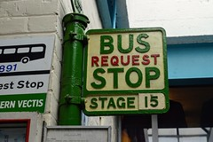 Vectis Bus Stop (PD3.) Tags: isle wight iow hants hampshire england uk great britain newport godshill quay harbour bus buses museum preserved vintage running day rally autumn sunday 12 13 october 2019 southern vectis