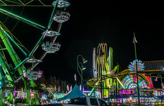 game time (pbo31) Tags: bayarea california nikon d810 color october 2019 boury pbo31 autumn hayward eastbay alamedacounty night black spinning butler amusements carnival rides lightstream motion parking lot mall