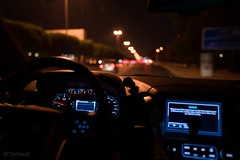 It was the possibility of darkness that made the day seem so bright #night #road #trip #street #light (7omoud1) Tags: night road trip street light