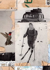 Ski Girl (johnefrench) Tags: collage art photomontage montage