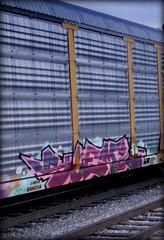 sueme (timetomakethepasta) Tags: sueme rast freight train graffiti art ferromex autorack