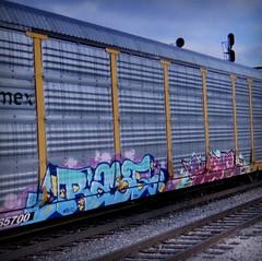 rast (timetomakethepasta) Tags: rast rfm sueme freight train graffiti art ferromex autorack
