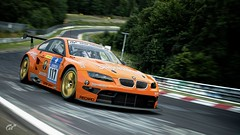 2011 BMW M3 GT (chumako@bellsouth.net) Tags: cars racecar racing scapes gaming granturismo gtsport polyphony ps4 playstation nurburgring greenhell orange jagermeister gt m3 bmw