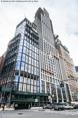 Park Row (20191010-DSC05234) (Michael.Lee.Pics.NYC) Tags: newyork lowermanhattan shiftlens architecture cityscape parkrow construction sony a7rm4 laowa12mmf28