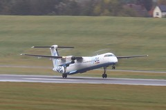 G-ECOR ~ 2019-10-11 @ BHX (04) (www.EGBE.info) Tags: gecor birminghamairport bhx egbb aircraftpix generalaviation aircraftpictures airplanephotos aerroplane aeroplanepictures cvtwings planespotting aviation davelenton httpwwwegbeinfo canoneos800d 11102019 dehavilland dhc8 flybe