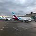 Terminal in Köln-Bonn - Flugzeuge der Airline Eurowings