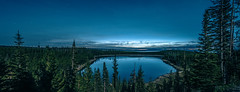 sunrise over yellowstone lake in yellowstone national park (DigiDreamGrafix.com) Tags: sunrise thumb west rise basin geyser yellowstone blue vibrant view sky beautiful beauty sunlight park spring morning water landscape clouds landmark famous national lake steam thermal midway wyoming awesome