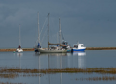 Hurst Castle - Hampshire (wryneck94) Tags: keyhaven hampshire landscapes boats
