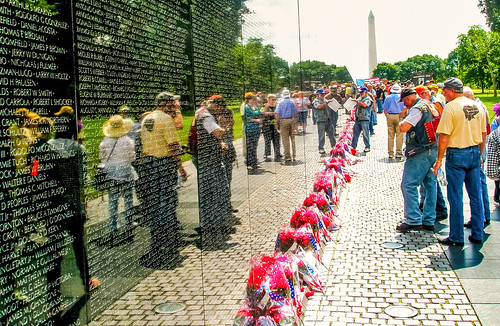 Vietnam Veterans Memorial, Washington, DC:  Memorial Day, 2011