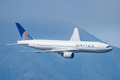777 over SF Bay (SBGrad) Tags: 200500mmf56e 2019 777 777200 alr boeing d750 fleetweek fleetweeksf n217ua nikkor nikon sfbayarea sanfrancisco sunday unitedairlines airshow flying