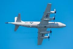 US Navy P-3C Orion (SBGrad) Tags: 200500mmf56e 2019 alr buno160293 d750 fleetweek fleetweeksf lockheed nikkor nikon orion p3 p3c sfbayarea sanfrancisco usnavy vp30