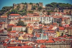 Lisbon (ValterB) Tags: 2019 portugal lisbon lisboa travel trip view valterb panorama castle house building buildings built architecture sky shadow scenic