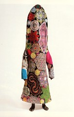 """""""Soundsuit""""  created by Nick Cave. A page from Smithsonian 2020 Engagement Calendar (ali eminov) Tags: mixedmedia sculpture soundsuit artist nickcave museums smithsonianamericanartmuseum calendars"""
