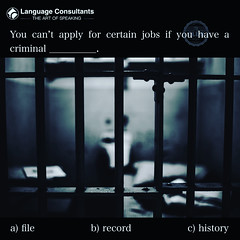 #Language #Consultants play a central role in #BringingTheWorldToYourDoorstep so you can #exchange #ideas, #learn, #think, #create and do #business more easily in #English. #TheArtOfSpeaking #Criminal (The English Verb) Tags: language consultants bringingtheworldtoyourdoorstep exchange ideas learn think create business english theartofspeaking criminal