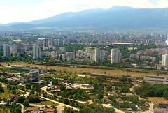 Sofia from the air (ali eminov) Tags: sofia bulgaria aerialphotos mountains vitosha