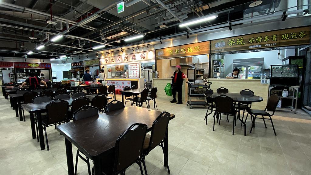 南門中繼市場2F美食共食區