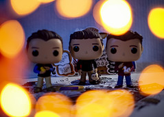 The One With Their Pets (mircoLITRATO) Tags: funkopop funko pop vinyl toyphotography mircolitrato toy actionfigure figure action friends chandlerbing rossgeller tvshow