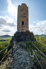 Tower of Skalka Castle (The Adventurous Eye) Tags: tower skalka castle věž ruins zřícenina hrad medieval architecture history