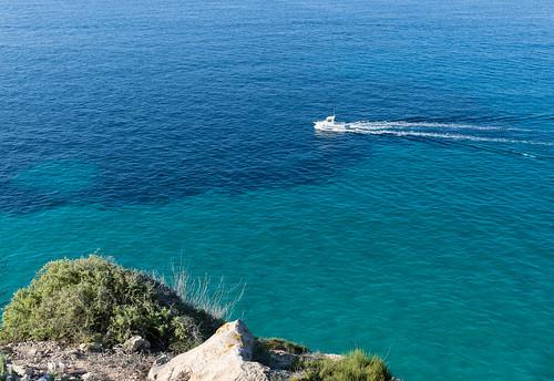 Motor boat, Mallorca