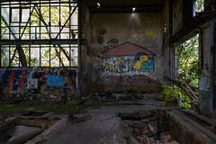 Sonnyboy (Panasonikon) Tags: panasonikon sonya6000 canon1018 fabrik graffiti lostplaces verfall industrie industry ruine niedergang sonne sun sonnyboy