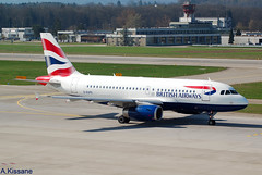 BRITISH AIRWAYS A319 G-EUPO (Adrian.Kissane) Tags: 1279 2832017 a319 geupo zurich britishaw
