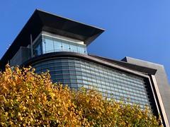 Autumn in the city (markshephard800) Tags: architecture modern windows office scotland glasgow autumn urban city