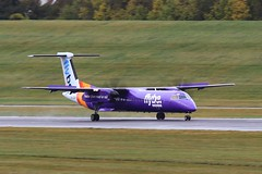 G-JECM ~ 2019-10-11 @ BHX (01) (www.EGBE.info) Tags: gjecm birminghamairport bhx egbb aircraftpix generalaviation aircraftpictures airplanephotos aerroplane aeroplanepictures cvtwings planespotting aviation davelenton httpwwwegbeinfo canoneos800d 11102019 dehavilland dhc8 flybe