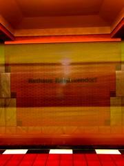 No red light district (Ondré (ANBerlin)) Tags: berlin apple germany subway deutschland metro ubahn iphone bvg reinickendorf 8plus iphotography anb030 iphonography shotoniphone iphone8 rathausreinickendorf weilwirdichlieben citylife stadt stadtleben stadtansichten städtisch city longexposure urban cityscape motionblur langzeitbelichtung bewegungsunschärfe longexpo text infrastructure extraordinary infrastruktur ausergewöhnlich texture station underground platform bahnhof struktur structure brickwork bahnsteig untergrund mauerwerk red rot lines lights licht indoor innen frame inside rahmen linien yellow train zug gelb