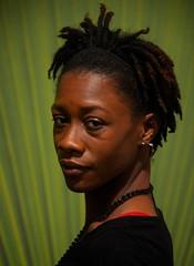 On Green (Ctuna8162) Tags: nikita chicago woman portrait pierced