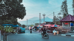 Morning activities (yanuarpotret) Tags: landscape sunday market morning people