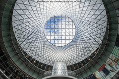 Fulton Center (20191010-DSC05201) (Michael.Lee.Pics.NYC) Tags: newyork lowermanhattan shiftlens fultoncenter architecture sony a7rm4 laowa12mmf28
