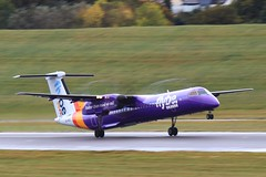 G-PRPJ ~ 2019-10-11 @ BHX (14) (www.EGBE.info) Tags: gprpj birminghamairport bhx egbb aircraftpix generalaviation aircraftpictures airplanephotos aerroplane aeroplanepictures cvtwings planespotting aviation davelenton httpwwwegbeinfo canoneos800d 11102019 dehavilland dhc8 flybe