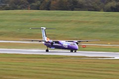 G-PRPJ ~ 2019-10-11 @ BHX (11) (www.EGBE.info) Tags: gprpj birminghamairport bhx egbb aircraftpix generalaviation aircraftpictures airplanephotos aerroplane aeroplanepictures cvtwings planespotting aviation davelenton httpwwwegbeinfo canoneos800d 11102019 dehavilland dhc8 flybe
