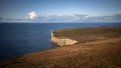 Atlantic Waterfall (MBDGE >1.7 Million Views) Tags: hoy2019 canon landscape eos eosr seascape cliffs scotland orkney wave sea ocean atlantic waterfall
