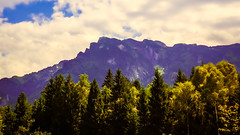 Mount Zwiesel (Theirion) Tags: austria salzburg huawei huaweip10 lightroom alps sky green blue yellow mountains clouds landscape trees smartphonephotos zwiesel