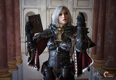 Piece of Cake Cosplay as Sister of Battle from Warhammer 40K, by SpirosK photography (ch.2: fighting and preaching) (SpirosK photography) Tags: cosplay costumeplay palazzogonzaga portrait spiroskphotography voltaincosplay voltaincosplay2019 vic pieceofcake pieceofcakecosplay postapocalyptic 40k warhammer40k warhammer tabletoprpg rpg game videogame gaming sisterofbattle adeptasororitas